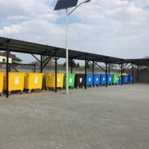 Zdjęcie Punkt selektywnej zbiórki odpadów komunalnych